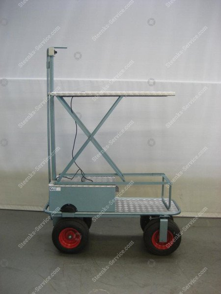 Luchtbandenwagen BR04 Berg Hortimotive   Afbeelding 2