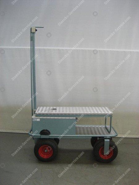 Luchtbandenwagen BR04 Berg Hortimotive   Afbeelding 3