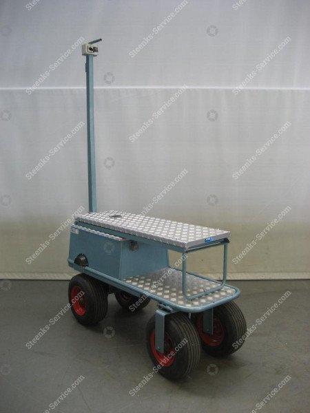 Luchtbandenwagen BR04 Berg Hortimotive   Afbeelding 4