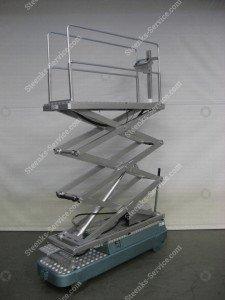 Rohrschienenwagen Alubo 3 Scheren