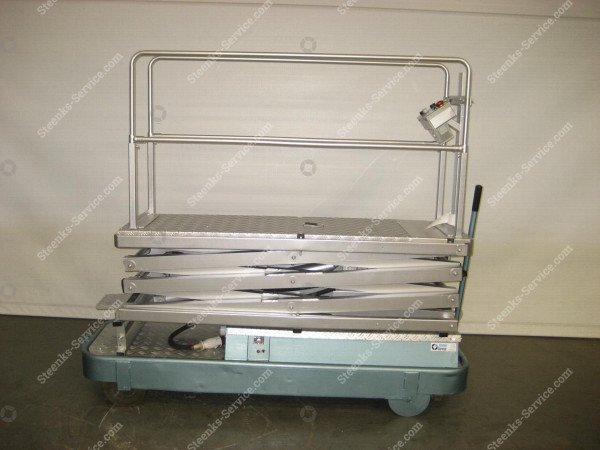 Pipe rail trolley Alubo 3-scissors | Image 3