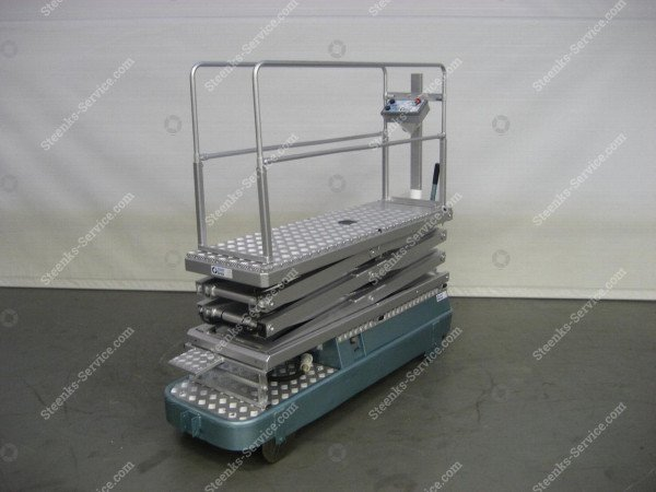 Pipe rail trolley Alubo 3-scissors | Image 4