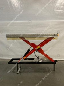 Single hydraulic scissor