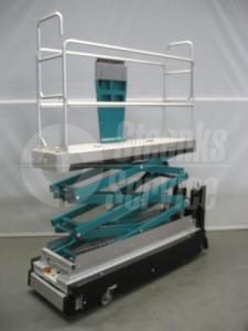 Rohrschienenwagen Carrier 3 Scheren