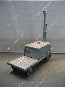 Pipe rail trolley BR03 Berg Hortimotive