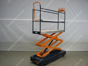 Pipe rail trolley Benomic Star