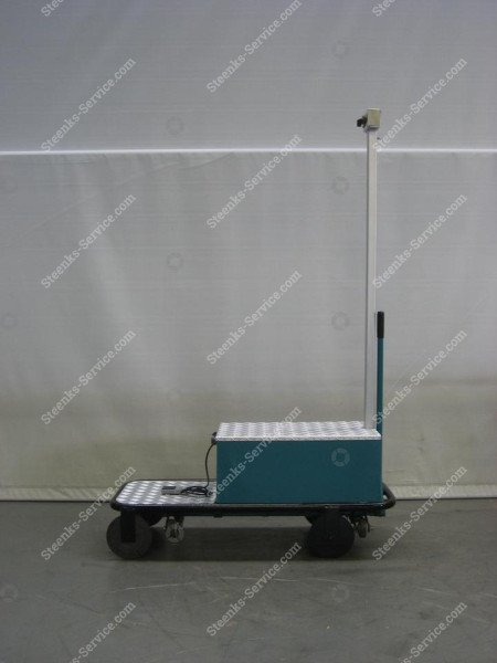 Pipe rail trolley BR04 Berg Hortimotive   Image 2