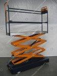 Pipe rail trolley Benomic 3-scissors