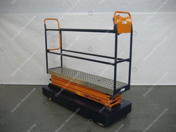 Pipe rail trolley Benomic 3-scissors | Image 4
