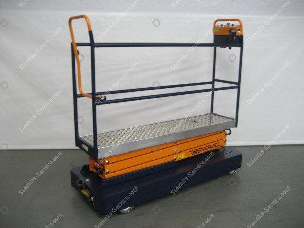 Pipe rail trolley Benomic 3-scissors | Image 5