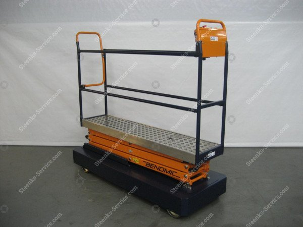 Rohrschienenwagen Benomic 3 Scheren   Bild 4