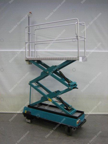 Pipe rail trolley BRW170