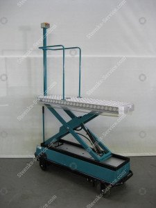 Pipe rail trolley BRW170