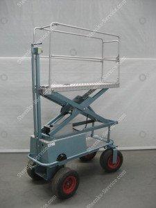 Luftreifenwagen BR04 Berg Hortimotive
