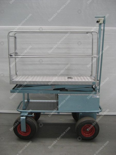 Air wheel trolley BR04 Berg Hortimotive | Image 2