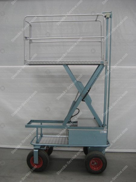 Air wheel trolley BR04 Berg Hortimotive | Image 3