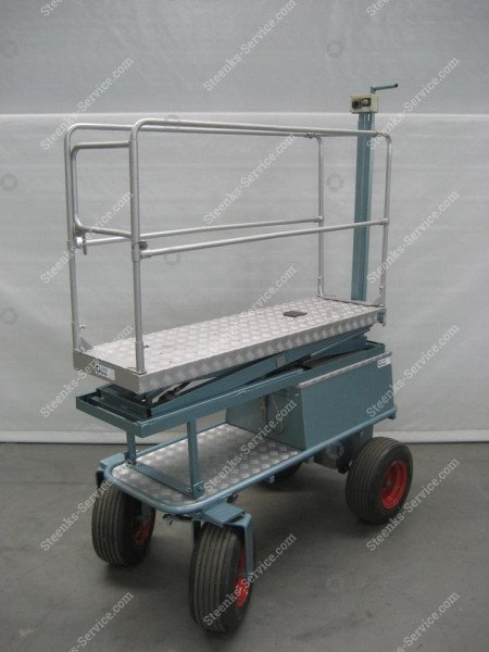 Luchtbandenwagen BR04 Berg Hortimotive   Afbeelding 5