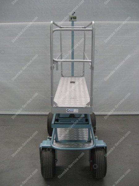 Luchtbandenwagen BR04 Berg Hortimotive   Afbeelding 6
