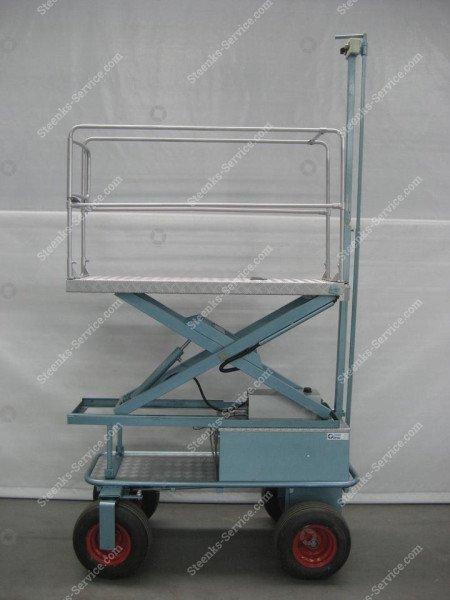 Luftreifenwagen BR04 Berg Hortimotive | Bild 4