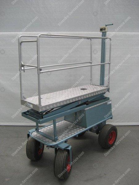 Luftreifenwagen BR04 Berg Hortimotive | Bild 5