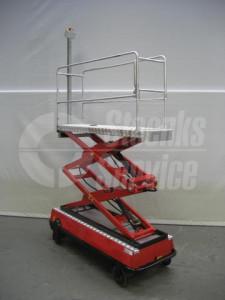 Pipe rail trolley BRW170 Berg Hortimotiv