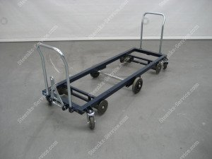 Transport trolley steel 187 cm.