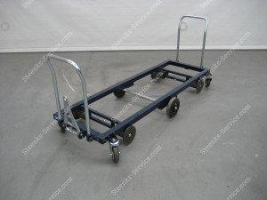 Transport trolley steel 187 cm.