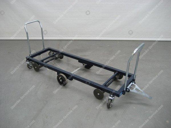 Transportwagen staal 187 cm. | Afbeelding 4