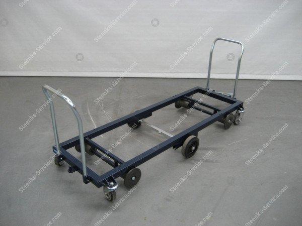 Transportwagen staal 187 cm.   Afbeelding 5