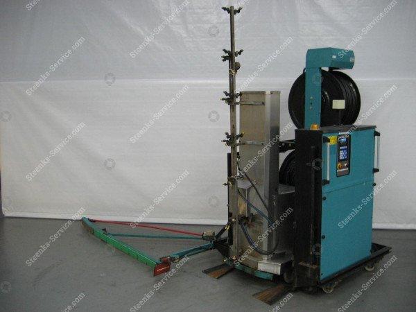 Spuitrobot Meto + Transportwagen