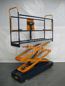 Pipe rail trolley Benomic 2-scissor