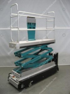 Pipe rail trolley Carrier 3-scissors