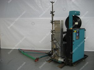 Spritz Roboter Meto + Transportierwagen