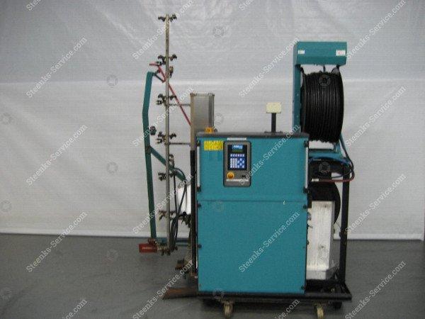 Spritz Roboter Meto + Transportierwagen   Bild 3