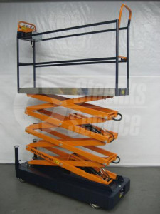 Rohrschienenwagen Benomic 4 Scheren
