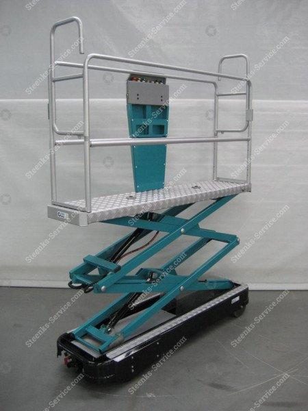 Rohrschienenwagen 2 Scheren | Bild 2