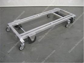 Transportwagen aluminium 187 cm.