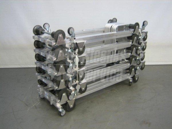 Transportwagen aluminium 187 cm.   Afbeelding 2