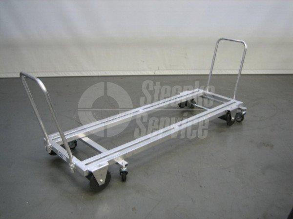 Transportwagen aluminium 187 cm.   Afbeelding 3
