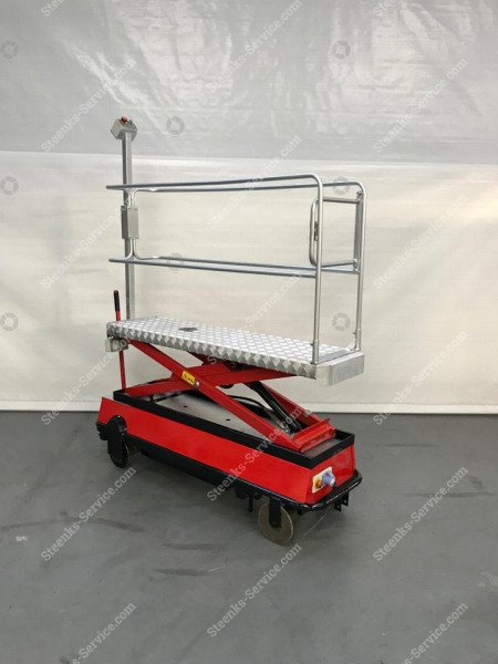 Buisrailwagen BRW170 Berg Hortimotive   Afbeelding 3