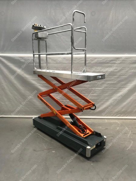 Pipe rail trolley Benomic 2-scissors