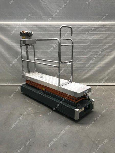 Pipe rail trolley Benomic 2-scissors | Image 2