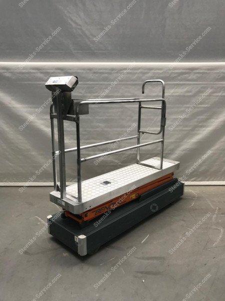 Rohrschienenwagen Benomic 2-Scheren   Bild 5