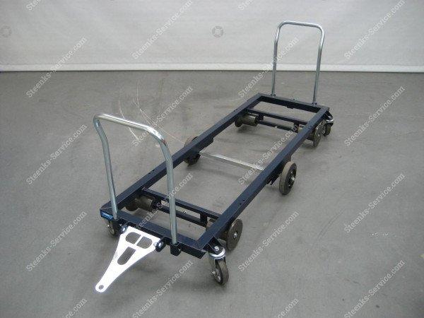 Transportwagen staal 187 cm. | Afbeelding 2