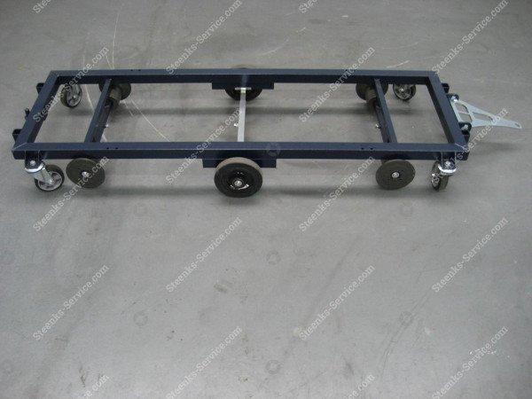 Transportwagen staal 187 cm.   Afbeelding 6