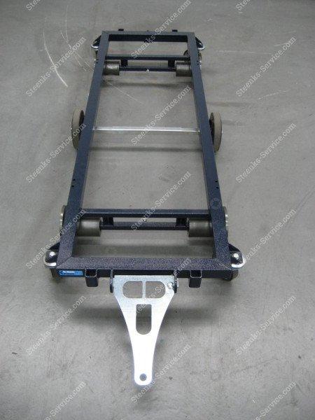 Transportwagen staal 187 cm.   Afbeelding 7