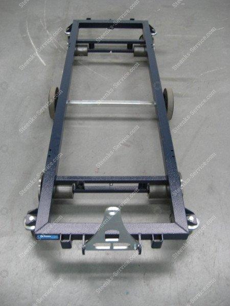 Transportwagen stahl 187 cm.   Bild 8