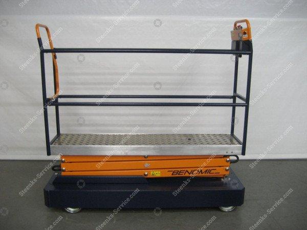 Pipe rail trolley Benomic 3-scissors   Image 2