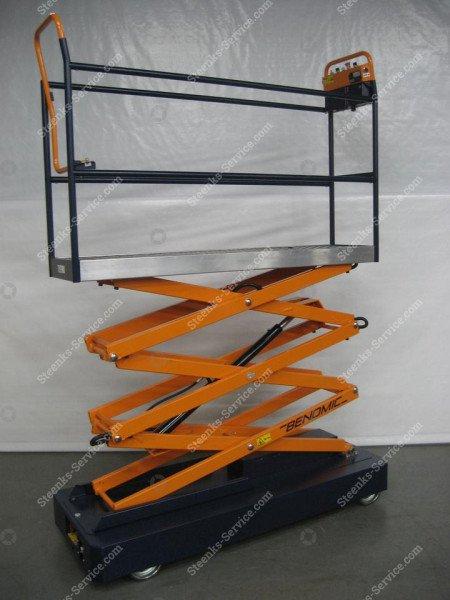 Rohrschienenwagen Benomic 3 Scheren