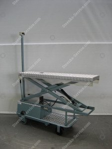 Pipe rail trolley BR04 Berg Hortimotive